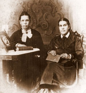 Ellen White and Elizabeth Harmon