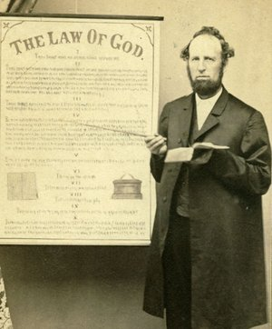 James White explaining the law of God