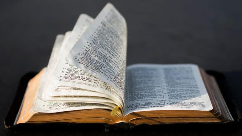 open bible inviting you to study and increase your understanding