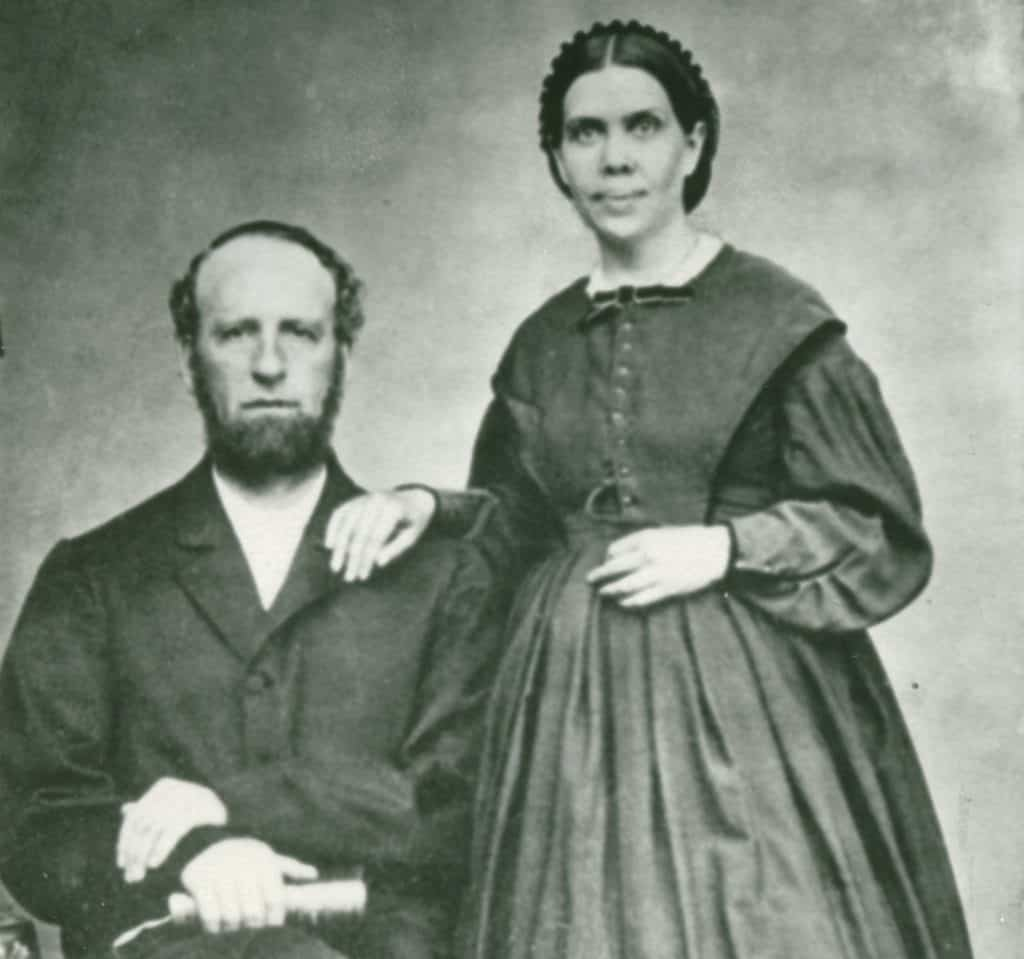 James White and Ellen White