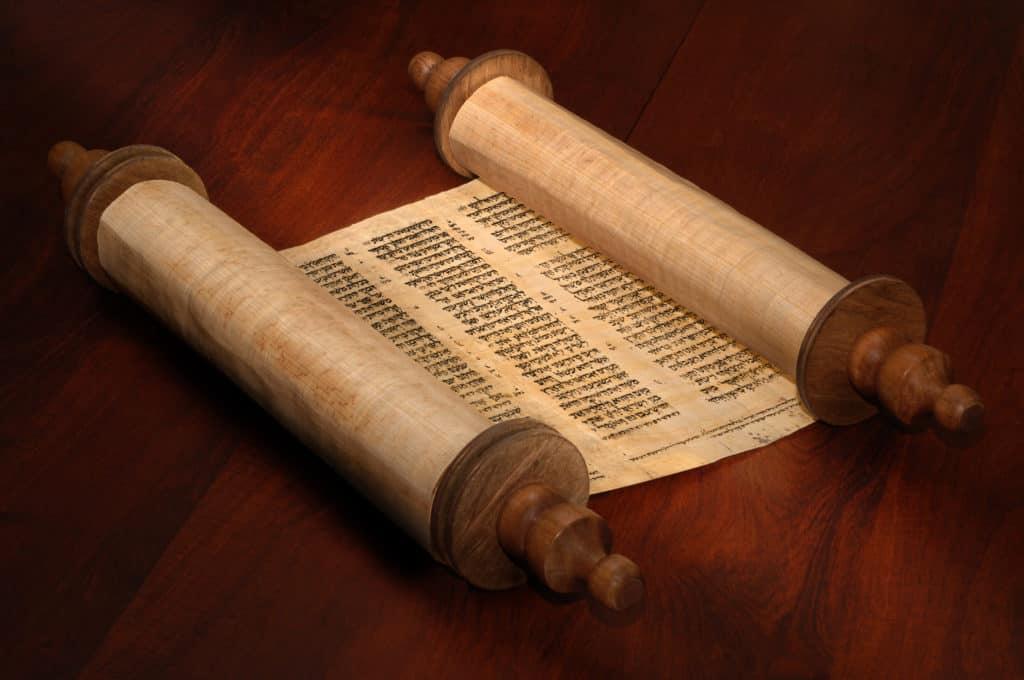 Open Bible Scrolls