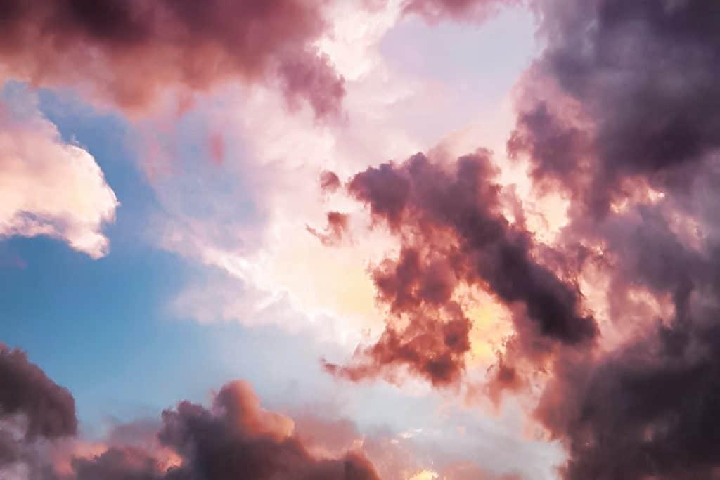 A pretty, cloudy sky
